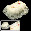 Bedroom Dresser Rectangle Lace Fabric Tissue Box Cover