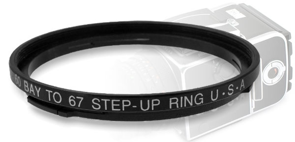 B60-67mm 60mm-67mm Step Up Filter Ring Stepping Adapter