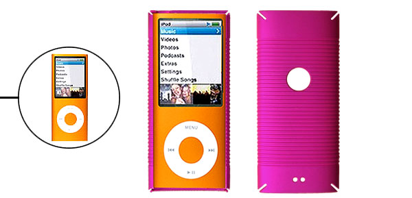 Hard Case Anti-Slip Protector for iPod Nano Chromatic 4th Gen 4G