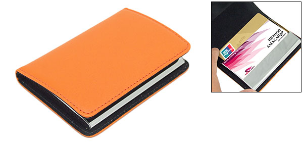 Book Style Card Holder for Business Name Card Credit Card