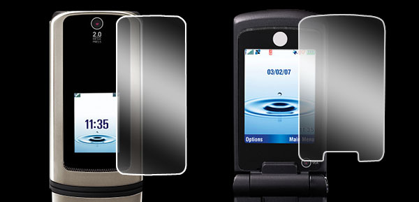 LCD Screen Guard Protector Shield for Motorola KRKZ K3