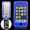 Blue Crystal Plastic Case Cover with Scr...
