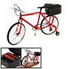 Red Electric Music Walking Miniature Bicycle Collection Motion Bi...