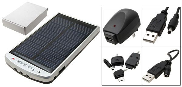 Portable Emergency Travel Solar Charger for Mobilephone Cell Phone