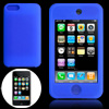 Blue Silicon Skin Case Cover for iPod Touch 2nd Generation