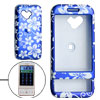 Blue Hard Plastic Case Cover for HTC T-Mobile G1 Google Phone