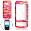 Stripe Plastic Case Hard Cover for HTC T-Mobile Google G1 Phone