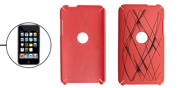 Round Hole Gridding Pattern Hard Case for iPod Touch 2