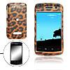 Leopard Pattern Plastic Case for Blackberry Storm 9530