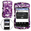 Purple Tree Pattern Plastic Case for Blackberry Storm 9530