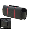Horizontal Leather Case Pouch Holder Black for Nokia N82
