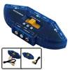 AV Audio Video RCA 3 Way Switch Game Selector Switcher Splitter 3...