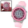 Girls Children Digital LCD Wrist Sports Alarm Watch Stopwatch Pin...