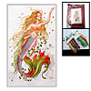 Mermaid Counted Cross Stitch Cross-Stitch Kit