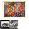 Goldfish Pattern Counted Cross Stitch Cross-Stitch Embroidery Kit