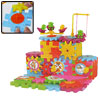 81PCS Colorful Bricks Kid's DIY Assembling Windmill Puzzle Toy
