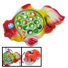 Musical Electric Fishing Game Plastic Toy w/ 15 Fish and 3 Fishin...