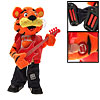 Lovely Battery Operated Guitar Playing Cartoon Tiger Plush Toy