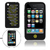 Black Rugged Case Silicone Skin Cover for Apple iPhone 3G