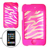 Magenta Unique Pattern Hard Case for iPod Touch 2nd Gen
