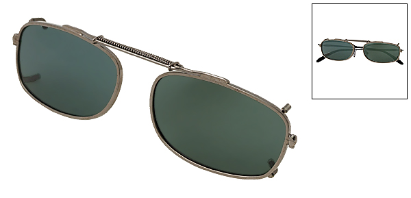 Removable Polarized Clip on Sunglasses with Extendable Frame