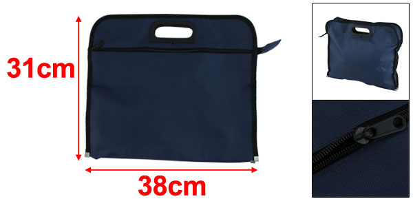 Nylon File Folder Document Bag Organizer Portfolio
