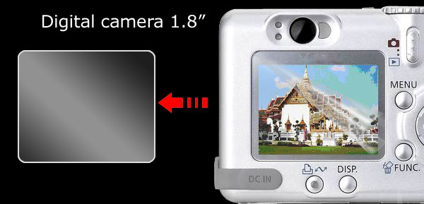 1.8 Inch LCD Screen Protector Guard for DC Digital Camera