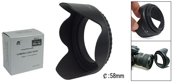 Camera Lens Hood, Lens Hood, Camera Lens Hood Replacement