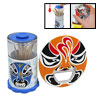 Chinese Opera Mask Automatic Toothpick Holder Case + Bottle Opene...