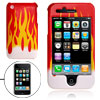 Fire Pattern Design Hard Protective Case Cover for Apple iPhone 3...