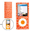 Leather Coated Hard Case Guard for iPod Nano Chromatic 4th Gen 4G