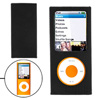 Nylon Fabric Coated Plastic Case for iPod Nano 4th Gen