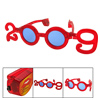 Charming Red 2009 New Year Flashing Flash Party Glasses