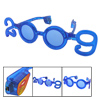 2009 Year Shaped Blue LED Flashing Flash Party Glasses
