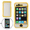 Glittery Hard Plastic Golden Case Cover for Apple iPhone 3G