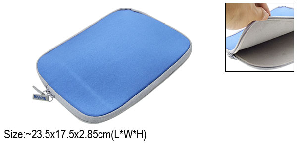 Neoprene Blue Pouch Bag for Notebook Laptop Asus 8.9