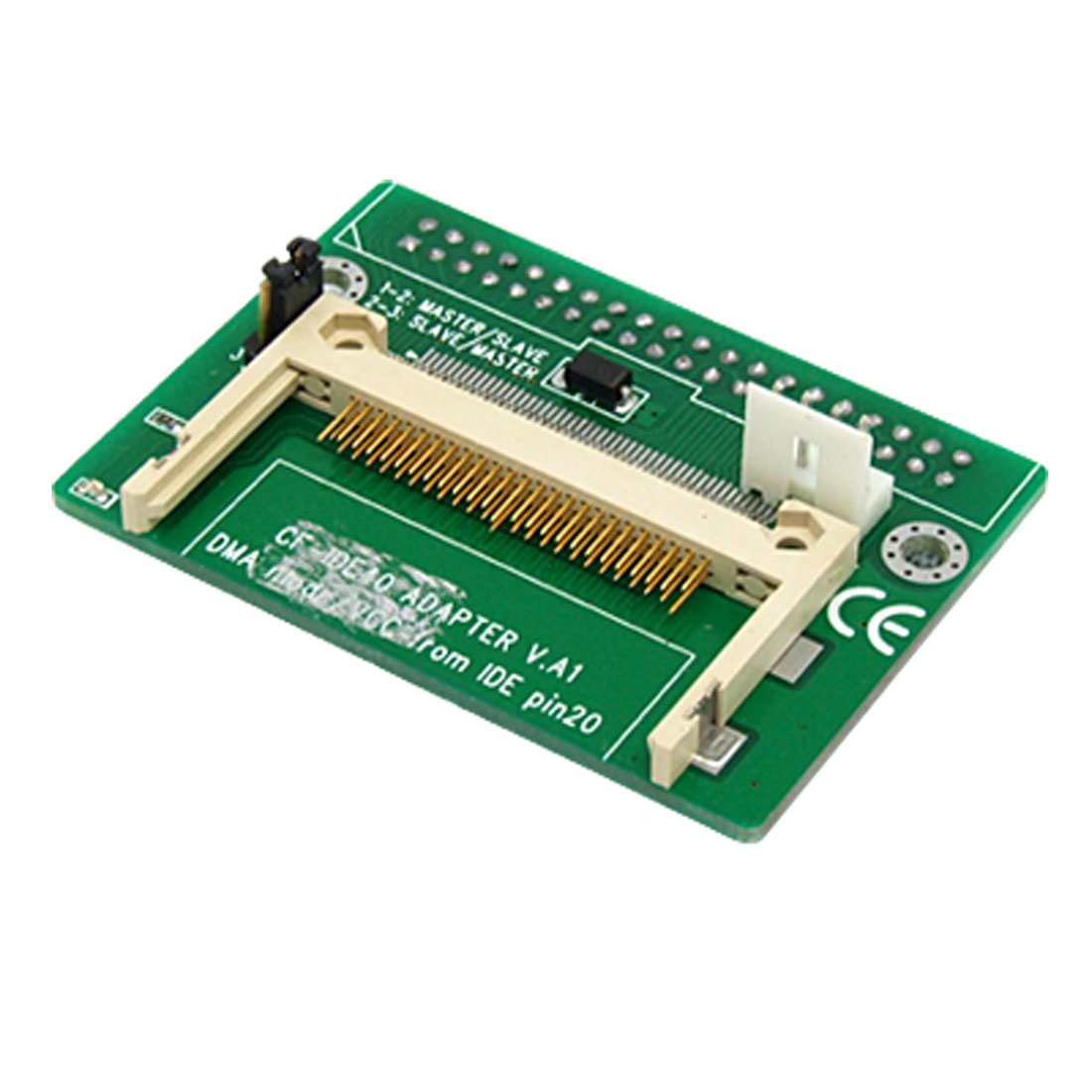 CF-to-40-Pin-Compact-Flash-IDE-Female-Connector-Adapter-Bend