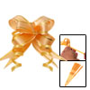 Poly Ribbon Flower Pull Bows for Gift Packing Wrapping