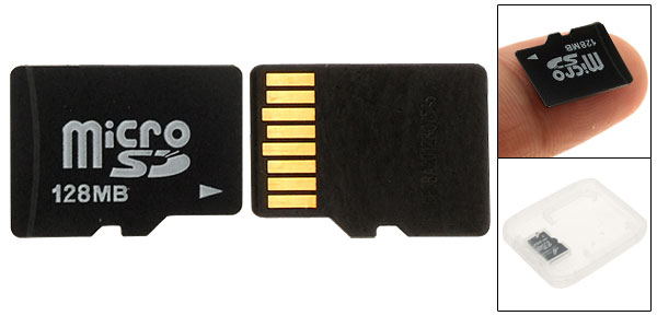 128MB MicroSD Micro SD TF TransFlash Memory Card Phone Accessory for Digital Devices