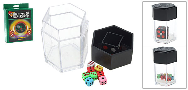 Trick Magic Master Exploding Multiplying Dice Bomb Fun Toy Game