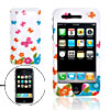 Plastic Case Cover w/ Butterfly Pattern for iPhone 3G