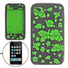 Green Soft Silicone Skin Case Cover for iPhone 3G