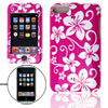 Flower Pattern Hard Plastic Case Cover for iPod Touch 2nd Gen