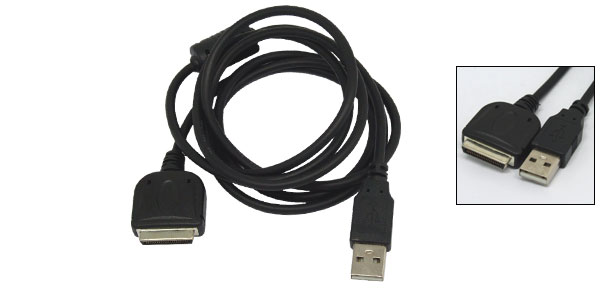 For Asus MyPal A600 PDA Hotsync Charging Cable Black