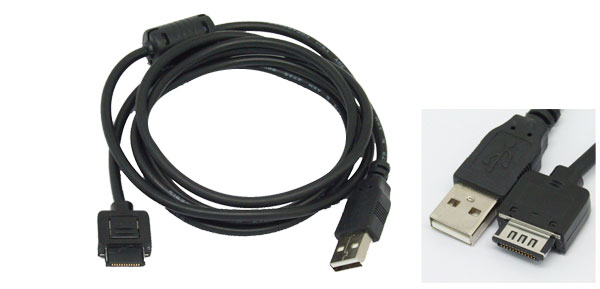 USB Sync Charge Data Cable for HP iPAQ 3630 Black