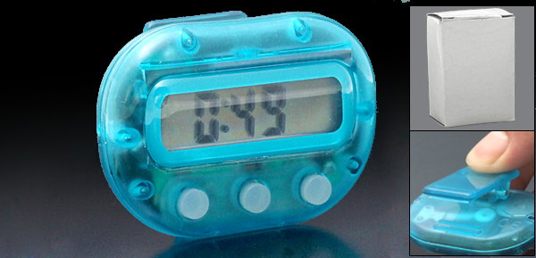 Mini Electronic LCD Digital Pedometer Step Calorie Counter