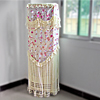 Lace Floss Flower Pattern Indoor Vertical Air Conditioner Cover