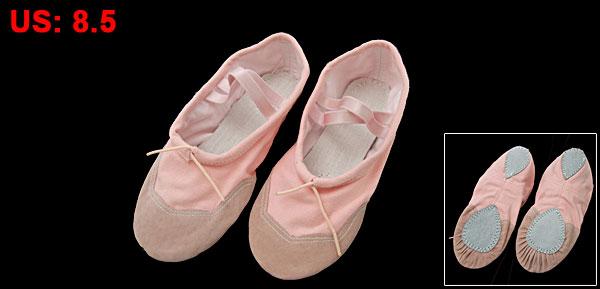 Soft Pink Dancing Dance Ballet Ladies' Shoes US 8.5