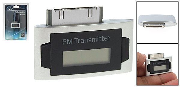 Mini LCD FM Transmitter for iPhone 3G iPod Nano 3rd Gen