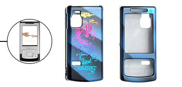 Dragon Design Hard Plastic Case for Nokia 6500 Slide 6500s